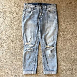 Silver not your boyfriend jeans. Mid rise size 29